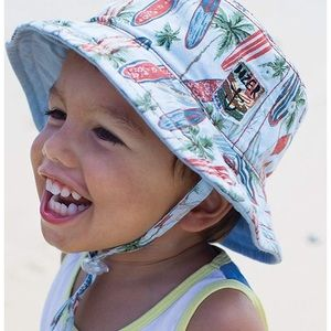 Other - NWT Boys Bucket hat. Reversible. 50+ SPF